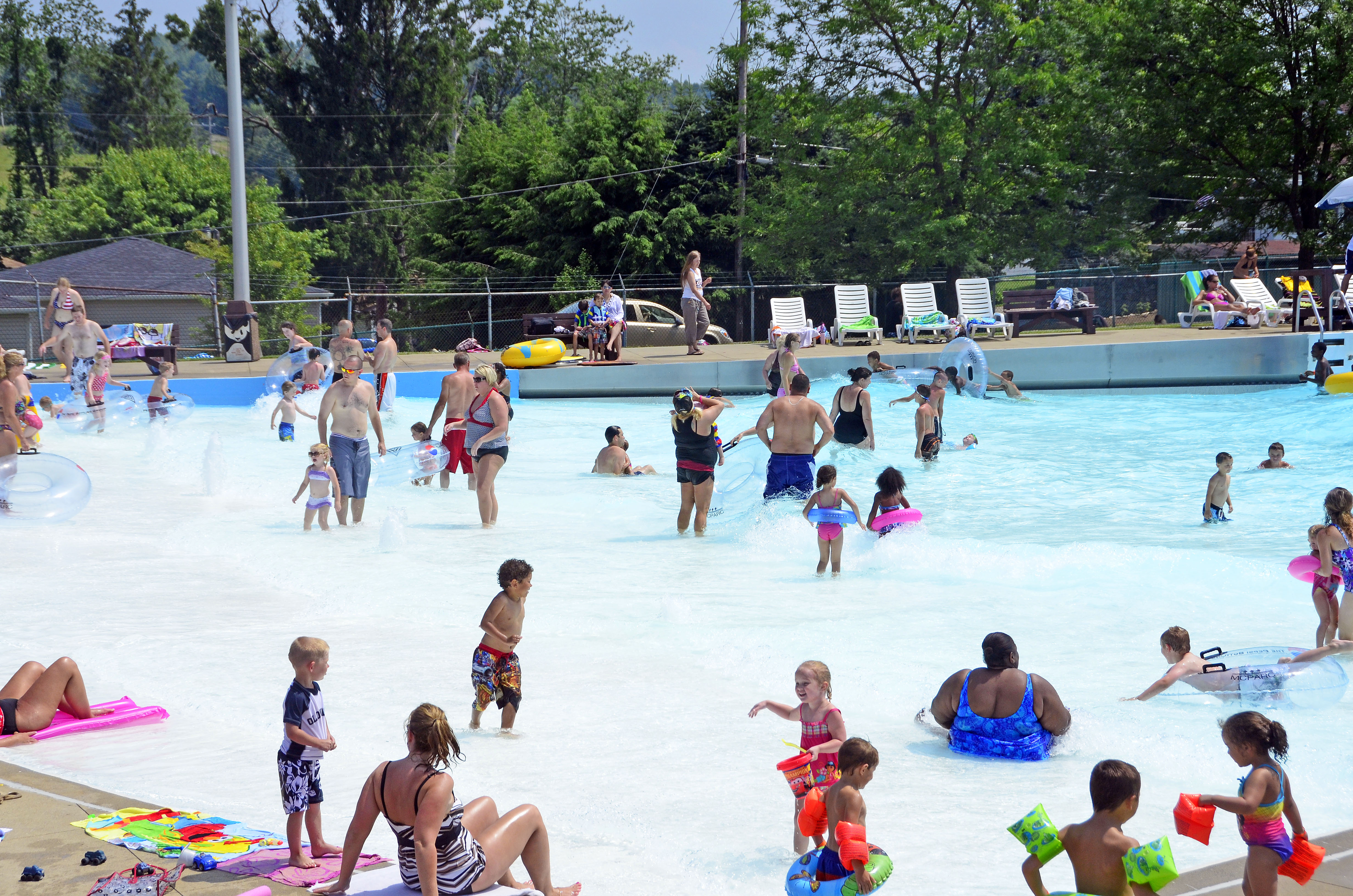 Wave Pool Water Slide At East Marion Complex Marion County Cvb