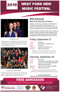 poster promoting a classical music festival
